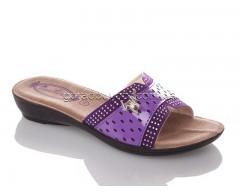 Шлепанцы DeMur G810B-purple