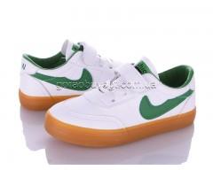 Кеды Violeta Q26-B63363 white-green