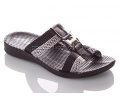 Шлепанцы DeMur BH-B-black-grey