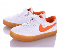 Кеды Violeta Q26-B63363 white-orange
