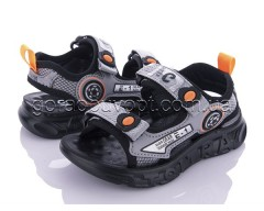 Босоножки Clibee-1 Z861A grey-orange