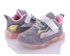 Кроссовки Clibee-1 F31 grey-pink