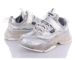 Кроссовки Clibee-2 G93-1 silver-white