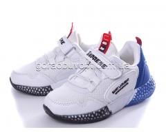Кроссовки Violeta 200-33K white-blue