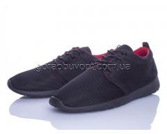 Кроссовки Violeta 4-309 black-red