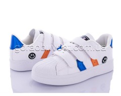 Кеды Violeta Y26-B2109 white-blue