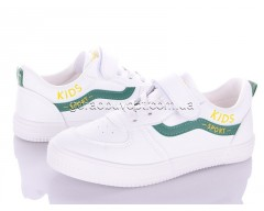 Кеды Violeta Q45-M132 white-green