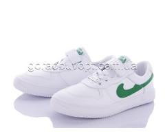 Кеды Violeta Y6-7268 white-green