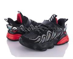 Кроссовки Clibee-1 885-9 black-red