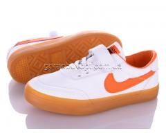 Кеды Violeta Q27-A63363 white-orange