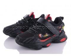 Кроссовки Clibee-1 L20-92 black-red
