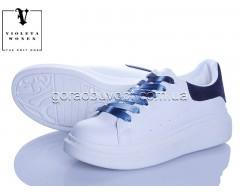 Кроссовки Violeta 20-657 white-blue