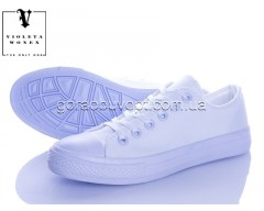 Кеды Violeta 888-2 all white