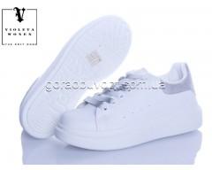 Кроссовки Violeta 20-657 white-grey
