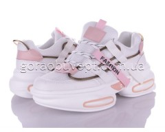 Кроссовки Violeta 149-3 white-pink