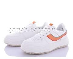 Кроссовки Violeta 172-38 white-orange