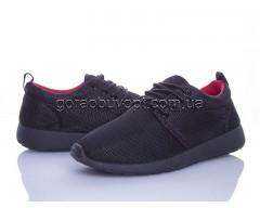 Кроссовки Violeta 4-308 black-red