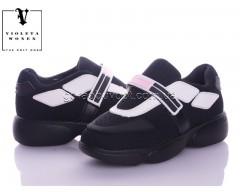 Кроссовки Violeta 168-13 black