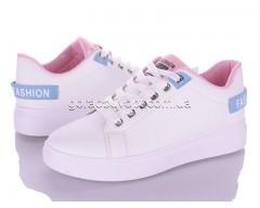 Кеды Violeta 80-73 white-pink