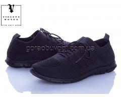 Кроссовки Violeta 20-650 all black
