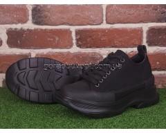 Кроссовки Violeta 166-29 black-black