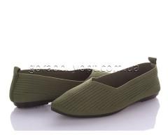 Слипоны Violeta 45-90 green