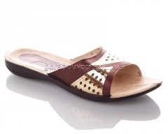 Шлепанцы DeMur W7149-brown