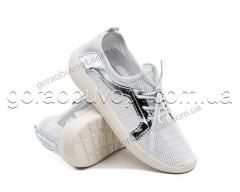 Кроссовки Violeta 4-482 white-silver